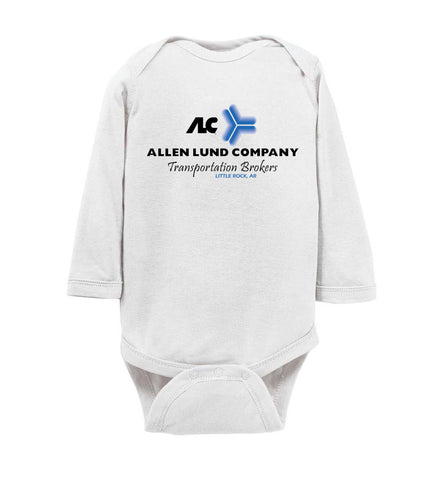 ALC - Little Rock - Front Only - Long Sleeve Onesie