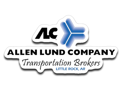 ALC - Little Rock - 4x3 Sticker