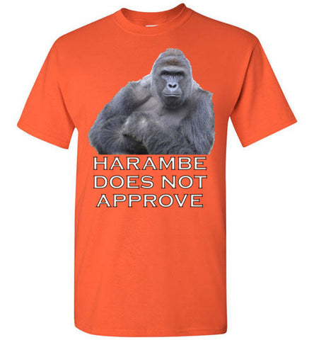 Harambe Does Not Approve - Tee