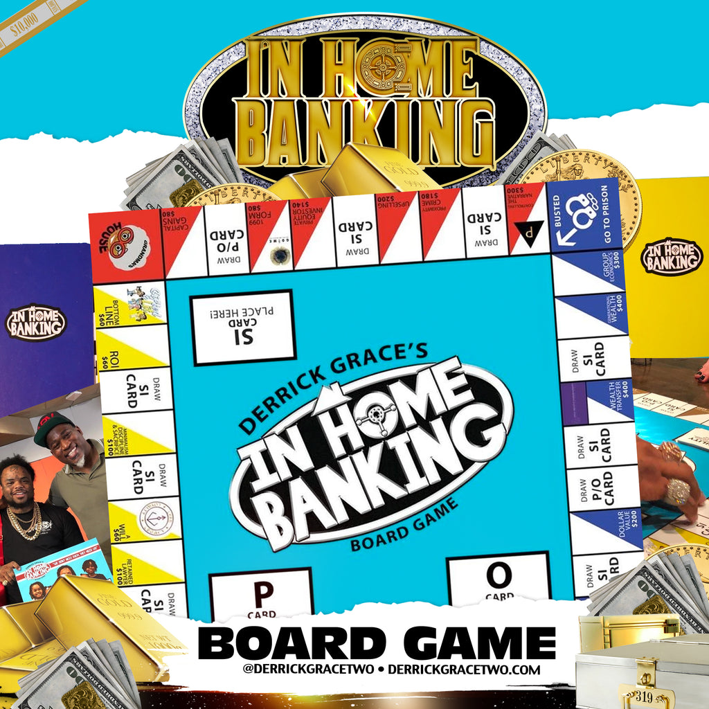"""In Home Banking"" Board Game"