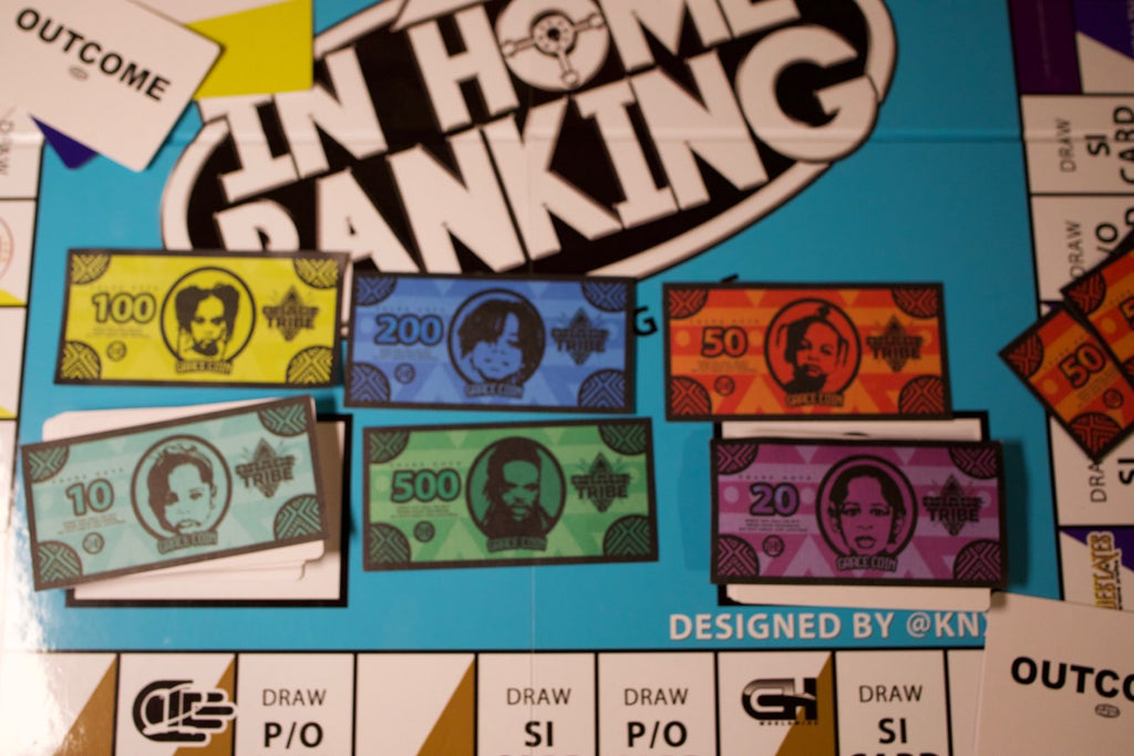 """In Home Banking"" Board Game - Limited Edition"