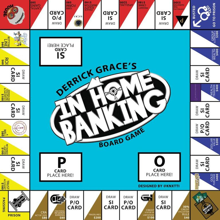 """In Home Banking"" Board Game - Discount Code ""2020"""