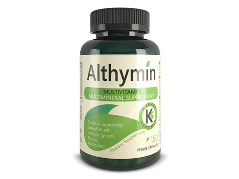 Althymin Multivitamin Multimineral Supplement 180 count