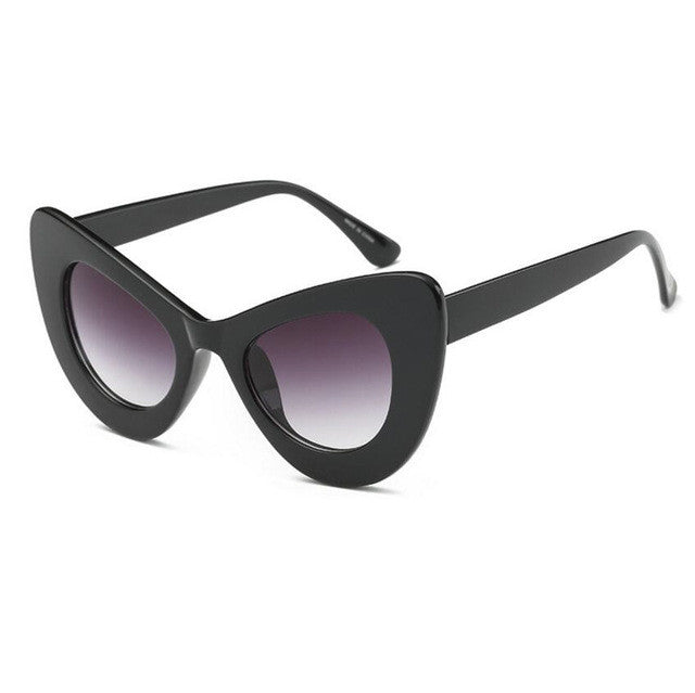Sexy Cat Eye Sunnies - Red-Hautecouture