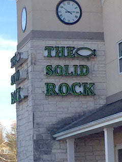 The Solid Rock Christian Bookstore in Fort Smith, Arkansas
