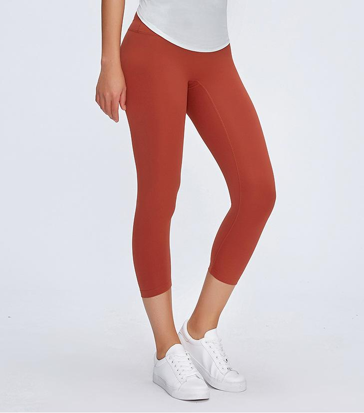 No.3 Crop in Burnt Orange