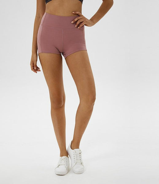 Micro Biker Short in Bisque
