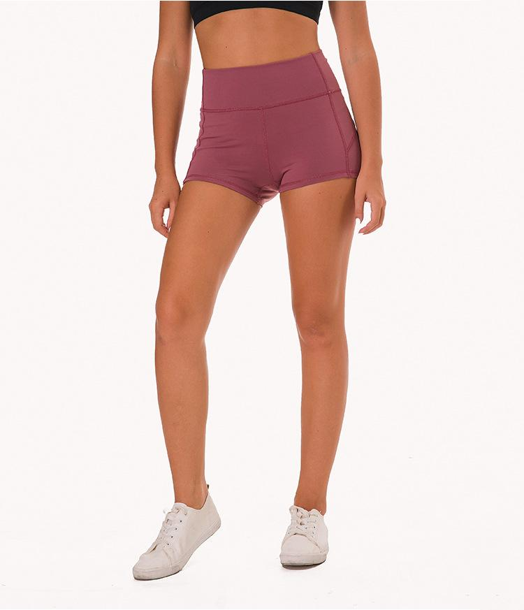 Micro Biker Short in Raspberry