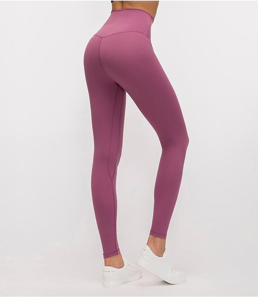 No.2 High Waisted Legging in Azalea