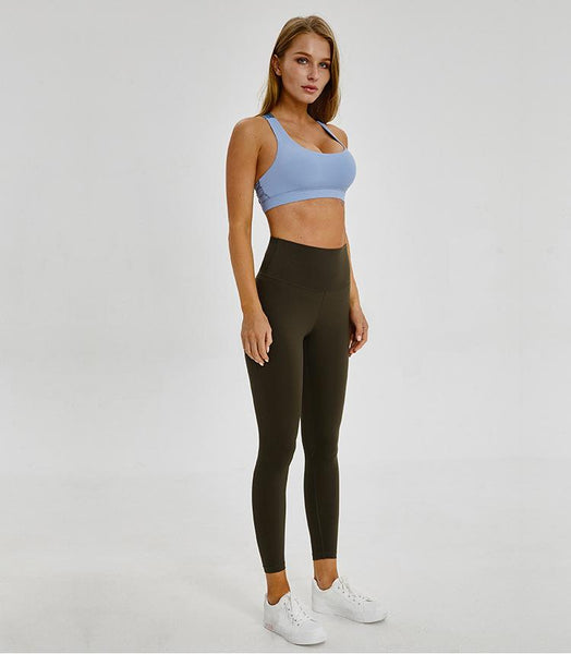 No.2 High Waisted Legging in Dark Olive