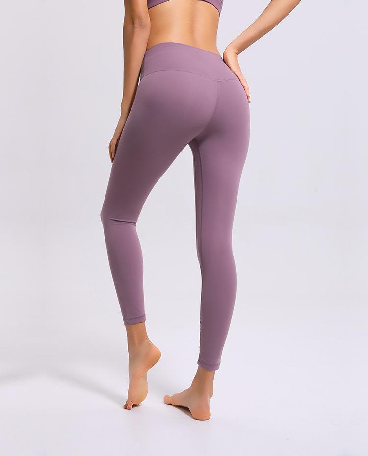 No.2 High Waisted Legging in Dusty Rose