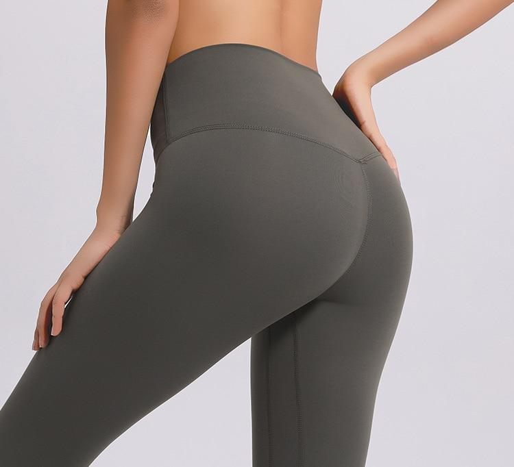 No.2 High Waisted Legging in Light Olive