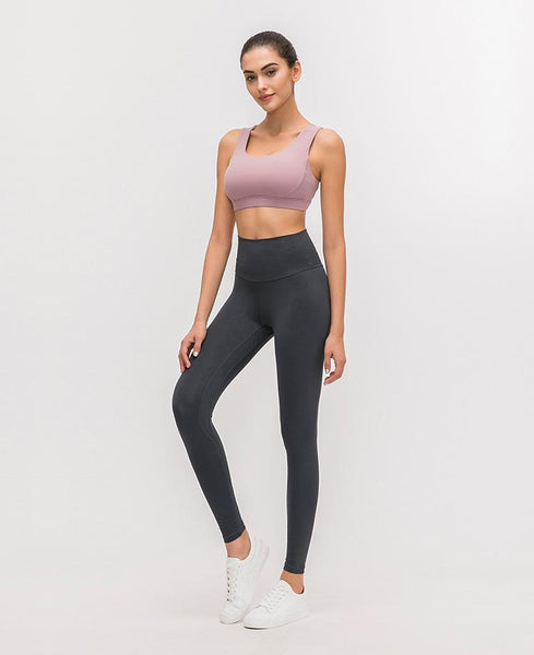 No.2 High Waisted Legging in Navy