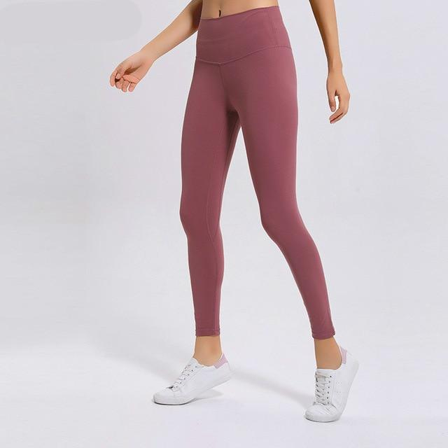 No.2 High Waisted Legging in Raspberry