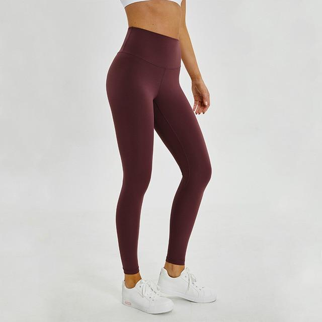 No.2 High Waisted Legging in Sangria