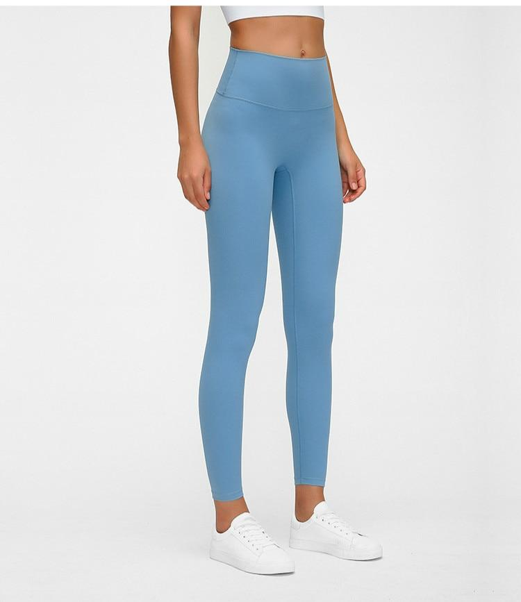 No.3 High Waisted Legging in Blue Lagoon