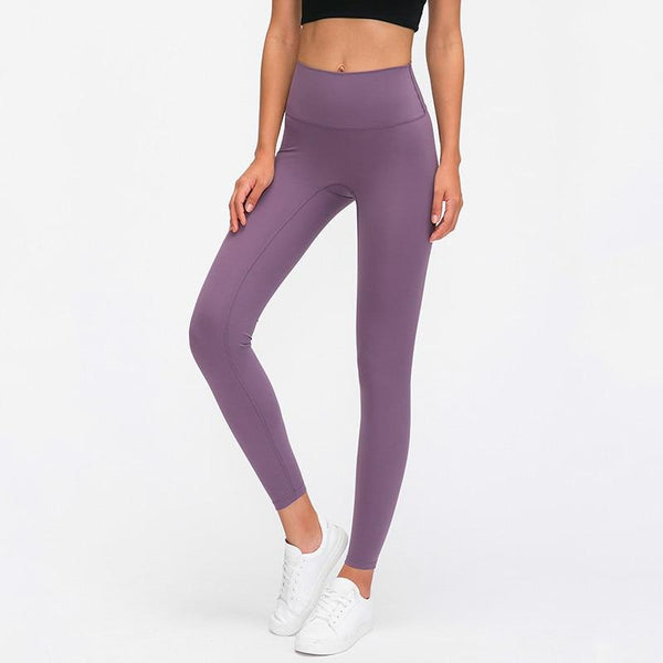 No.3 High Waisted Legging in Mauve