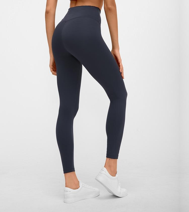 No.3 High Waisted Legging in Navy