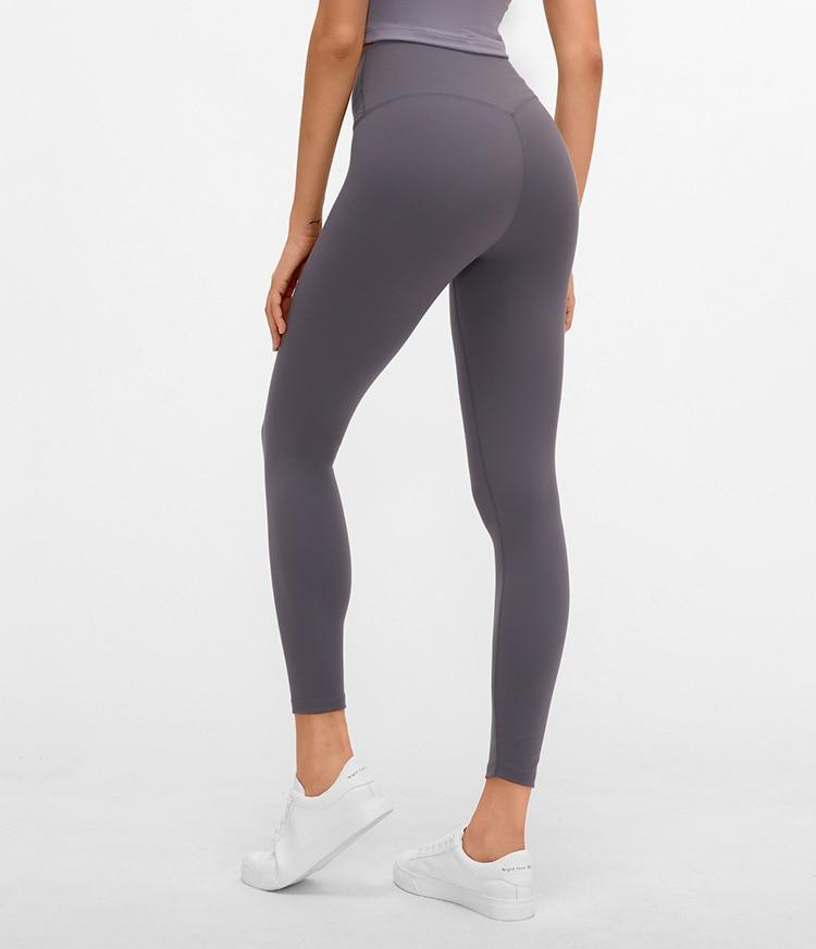No.3 High Waisted Legging in Smoke