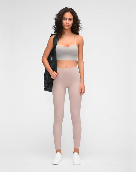No.3 High Waisted Legging in Whisper