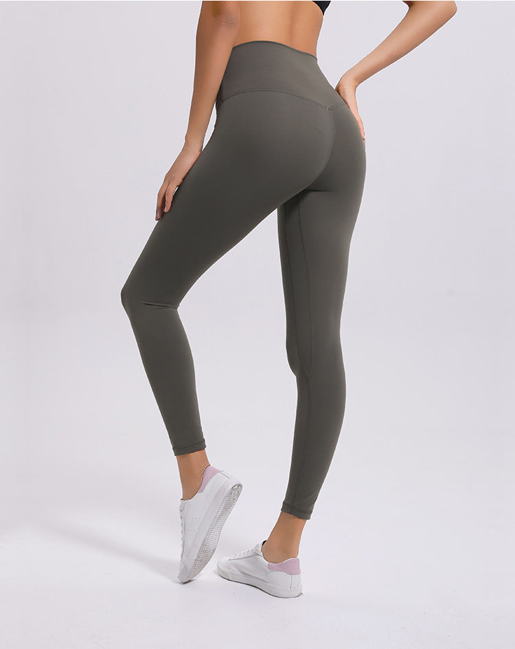 No.2 High Waisted Legging in Stone