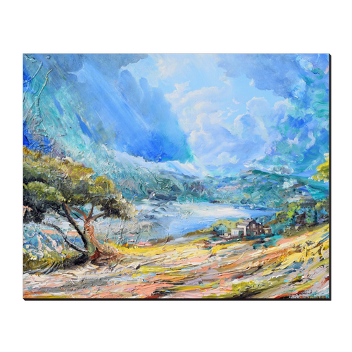 Beautiful Afternoon Canvas Wraps - 16x20 inch - canvas wrap