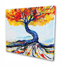 Blue Tree Original Painting - Original Paintings