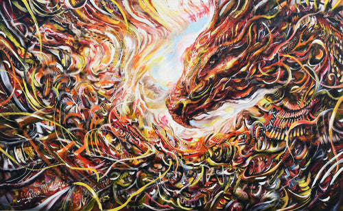 Dragon Original Painting - Original Paintings