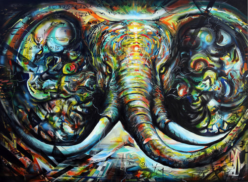 Elephant Original Art - Original Paintings