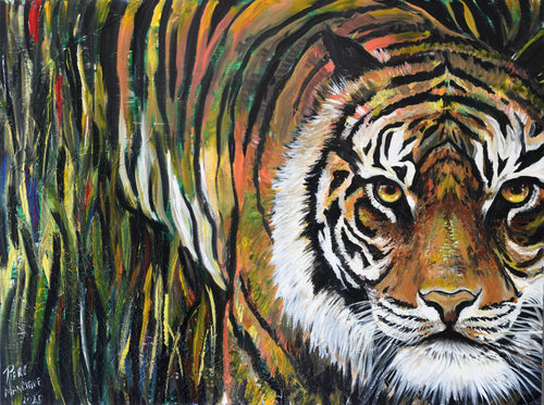 Fearless Original Painting - Original Paintings