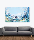 Happe Wave Original Painting - Original Paintings