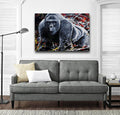 Harambe Canvas Wraps