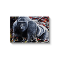 Harambe Canvas Wraps - Black Wrap / 20x30 inch