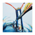 King Bridge Canvas Wrap - 16x16 inch