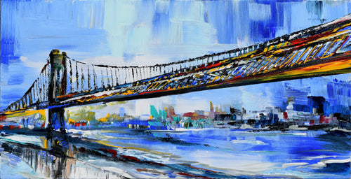 Long Bridge Original Painting