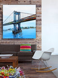 Manhattan BridgeCanvas Wrap