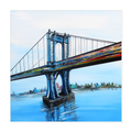 Manhattan BridgeCanvas Wrap - 16x16 inch