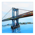 Manhattan BridgeCanvas Wrap - 24x24 inch