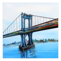 Manhattan BridgeCanvas Wrap - 30x30 inch