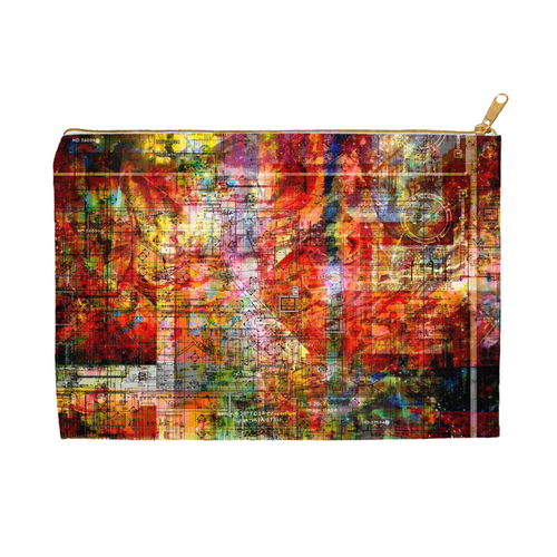 Map of Immortality Zipper Bag - No Bottom / 8.5x6 inch w/