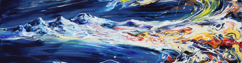 Mountain Dream Original Painting - Original Paintings