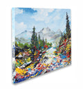 Mountain Pass Original Painting - Original Paintings