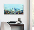 Mountain Peak Original Painting - Original Paintings