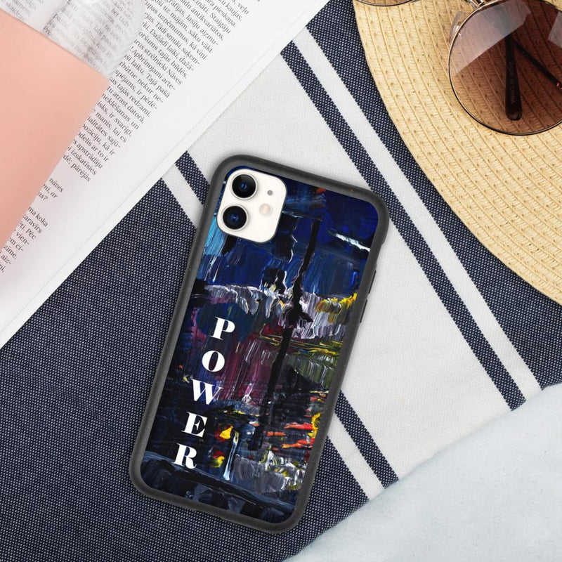 Power Biodegradable phone case - iPhone 11