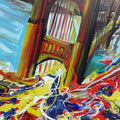 San Francisco Bridge Original Painting