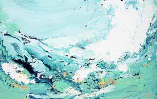 Timeless Wave Original Painting - Original Paintings