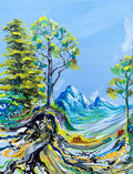Wonder Landscape Original Painting - Original Paintings