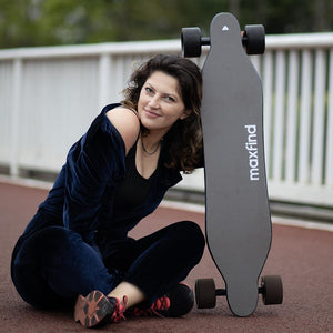 It's Loud! Maxfind Releases New Electric Skateboard Max4 Pro: Long Range & Power Upgrade