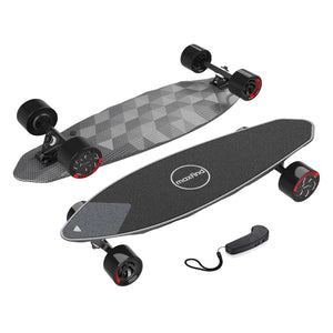 Maxfind Max2 Pro The world's first diamond cut electric skateboard? An in-depth review.