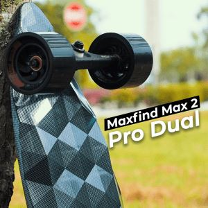 Maxfind Max2 PRO Dual Review- A good looking board for campus use?(HQ Review)